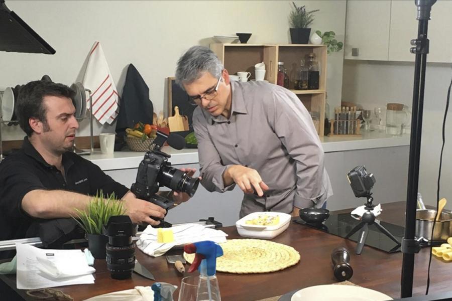 portfolio video recetas garofalo
