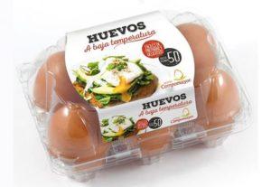 huevo baja temperatura